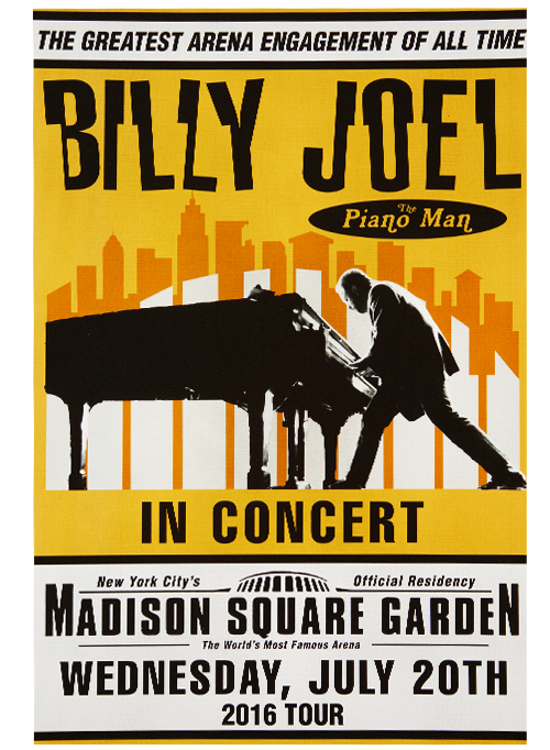 Billy Joel Tickets Madison Square Garden Mjlsinfo